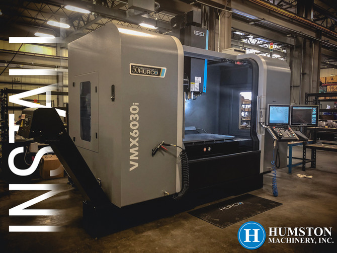 Hurco VMX6030iInstall