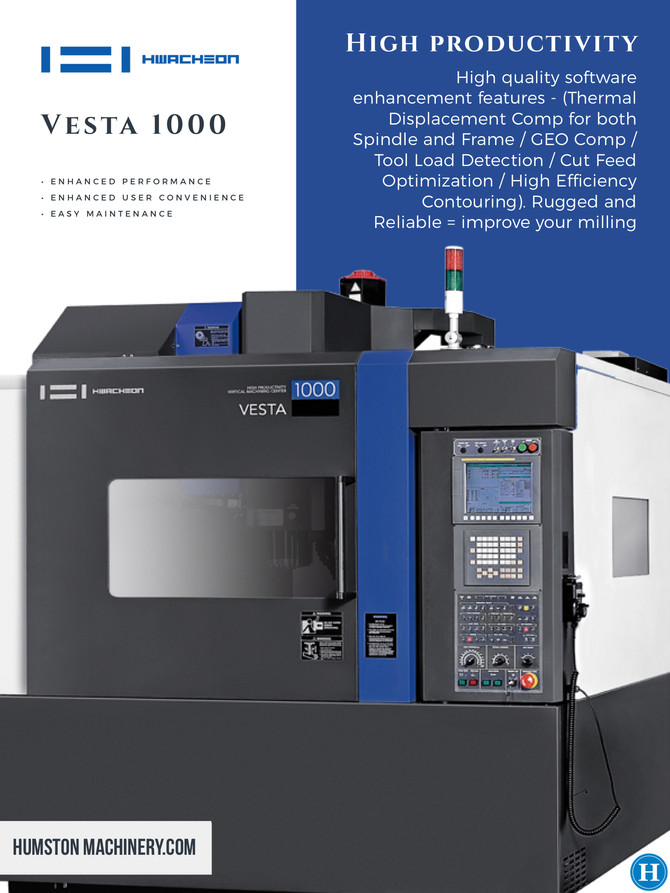 Hwacheon Vesta 1000 CNC Machining Center