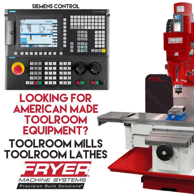 Fryer Toolroom Machines