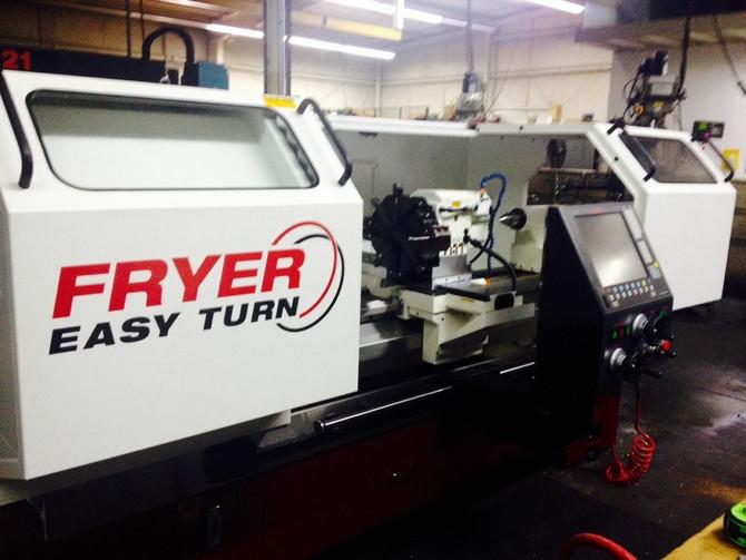 Fryer ET-21 Install