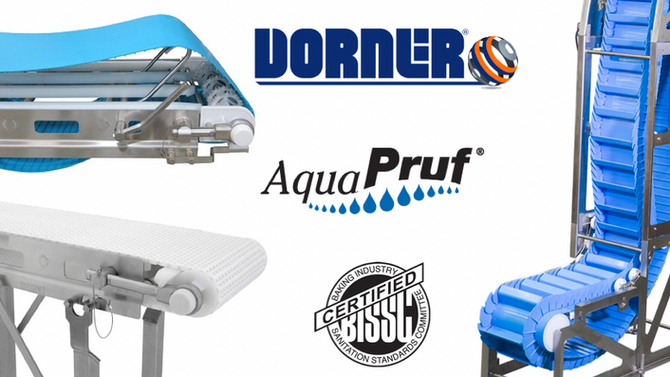 Dorner AquaPruf Conveyors
