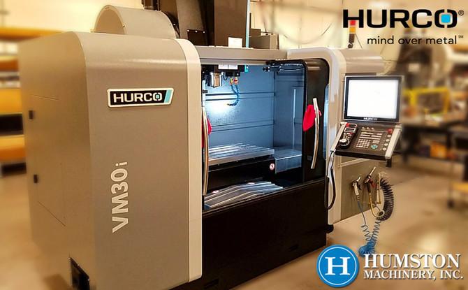 Hurco VMX30i Install