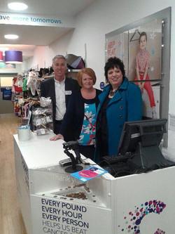Visit to shop in Ayr