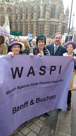 WASPI Protest
