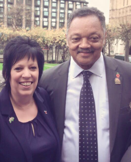 Civil Rights Hero Rev Jesse Jackson