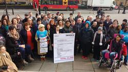 SNP MPs Protesting ESA Cuts
