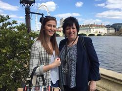 Rebecca visiting London