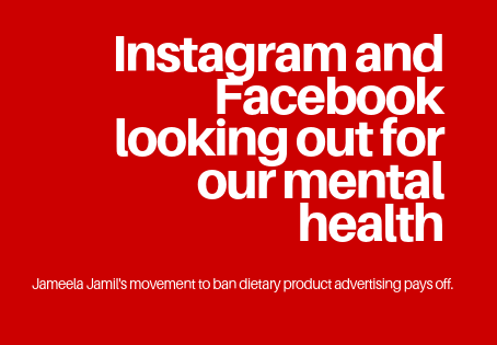 Instagram and Facebook looking out for our mental health