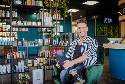 Wouter nekkers in de salon Nekx Hair & Beauty