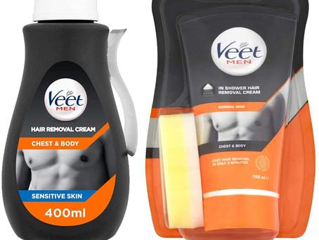 Veet In Shower Hair Removal Cream for men