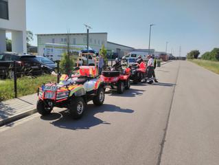 Das Madhead-Racing Team zu Gast beim BRK Regenstauf