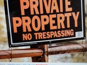 Dogs Beware of Trespasser
