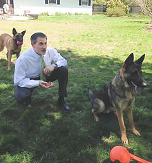 Dog Defense Case - lawyer Jaremy with Lansky