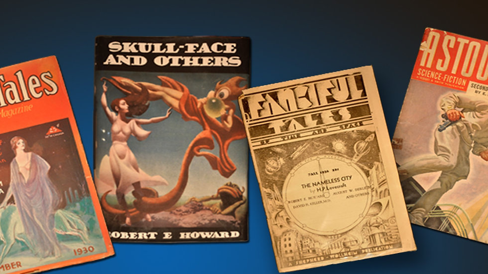 Pulps, Digests and SF Magazines, Various Titles