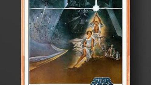 Original Star Wars Movie Poster 1977