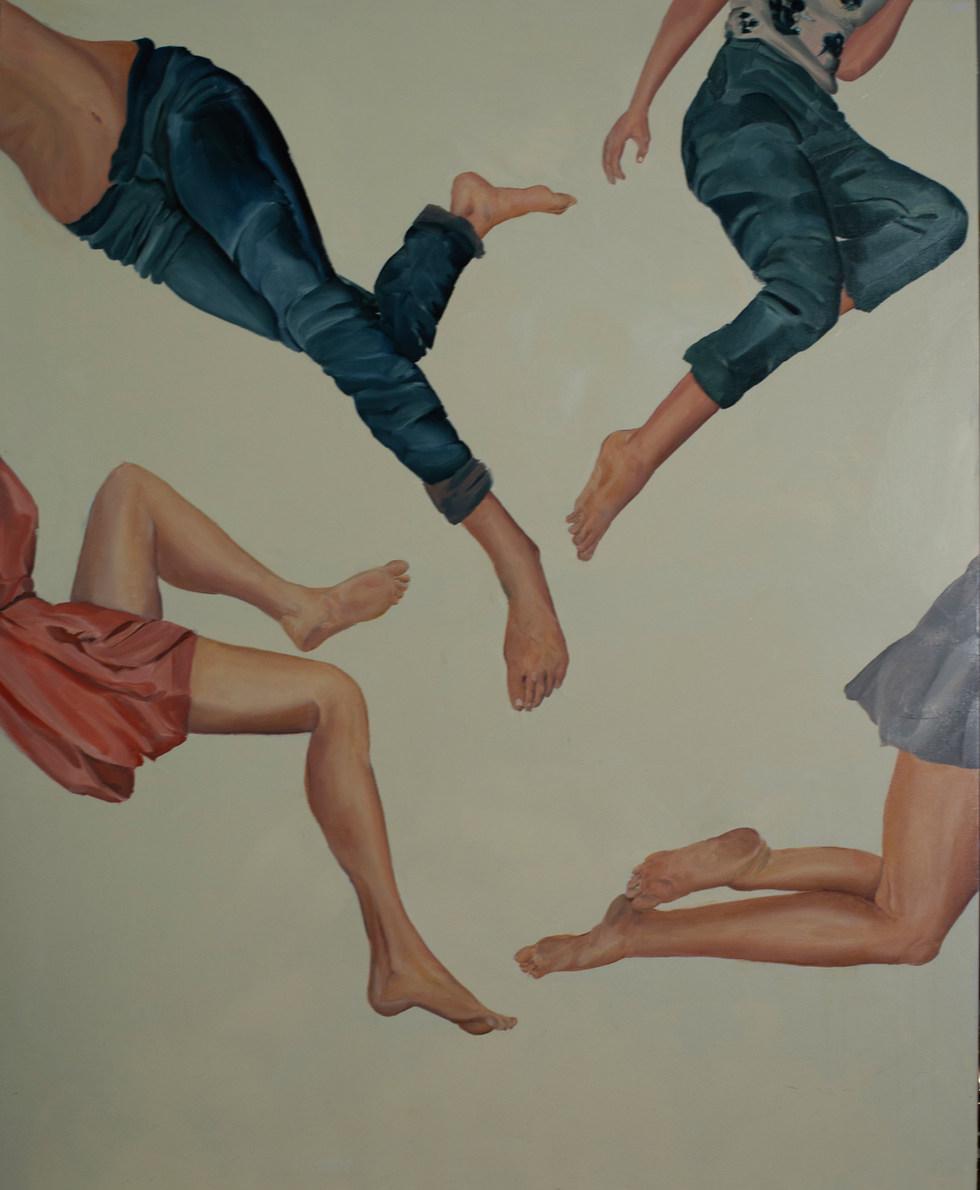 Movements 90x110 cm