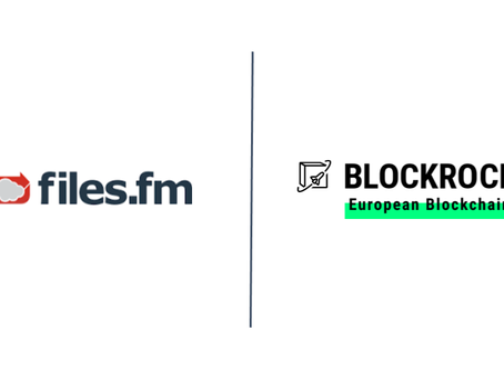 Files.fm accelerates blockchain as BLOCKROCKET member