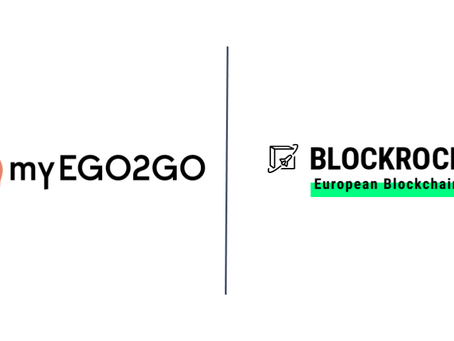 myEGO2GO accelerates blockchain as BLOCKROCKET member
