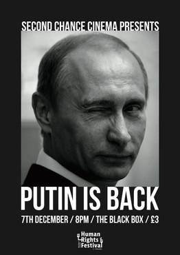 Putin is Back