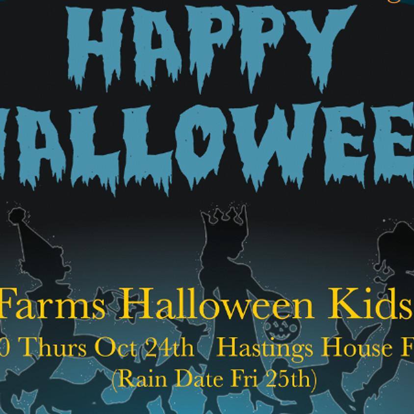 The Farms Halloween Kids Walk