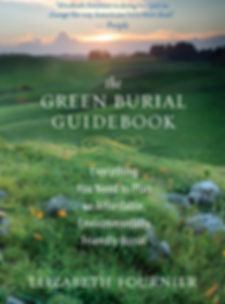 Book cover of the green burial guidebook