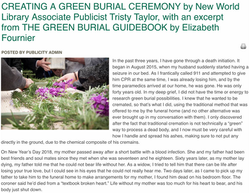 New world Library: Creating a Green
