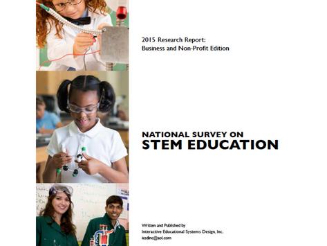2015 Business Report: National Survey on STEM Education