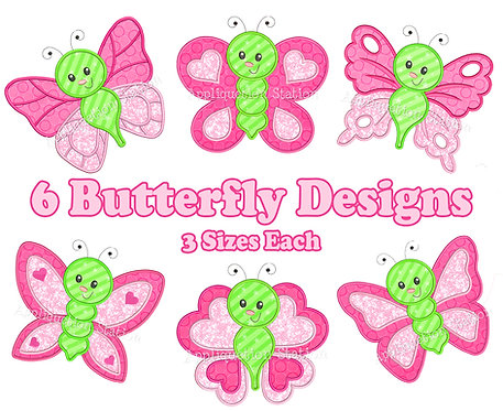 Bugzee Butterfly Set