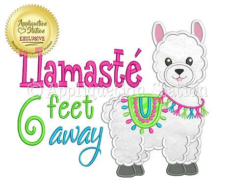 Llamaste 6 feet away