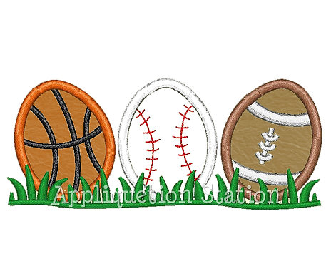 Easter Sports Egg Row