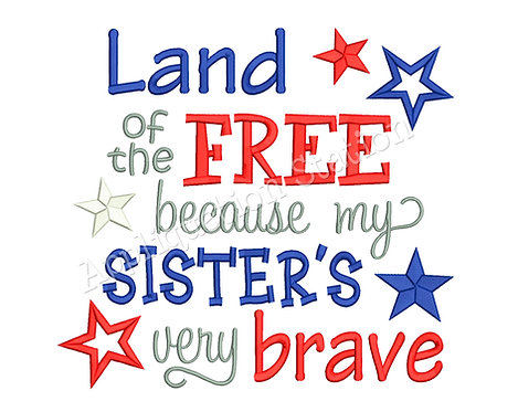 Land of the Free Sister