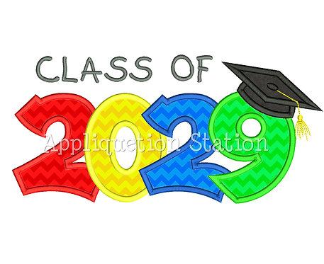 Class of 2029 Graduation Cap