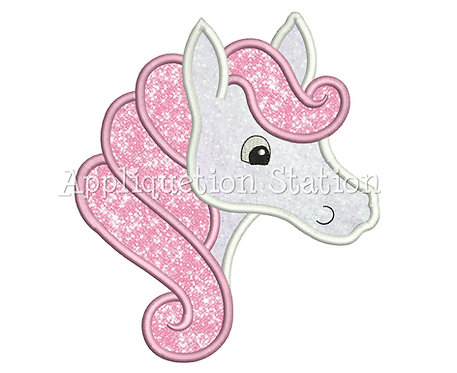 Horse with Swirly Mane
