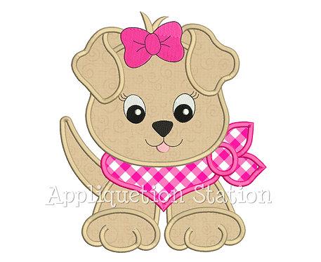 Bandana Baby Girl Puppy