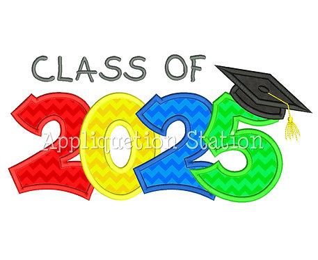 Class of 2025 Graduation Cap