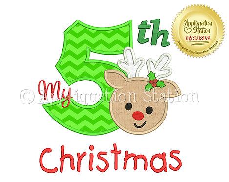 My 5th Christmas Reindeer