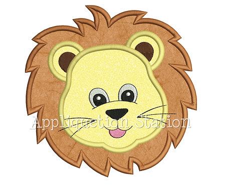 Zoo Baby Lion Head