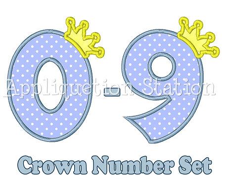 Crown Number Set