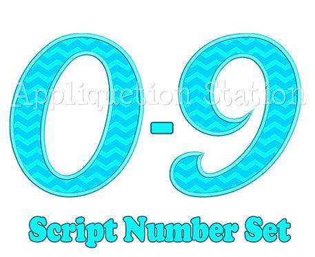 Script Number Set