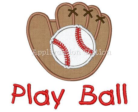 Baseball Glove Play Ball