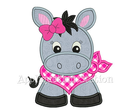 Bandana Baby Girl Donkey