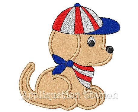 Patriotic Puppy Dog