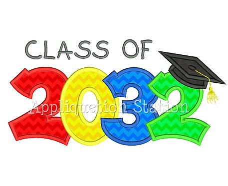 Class of 2032 Graduation Cap
