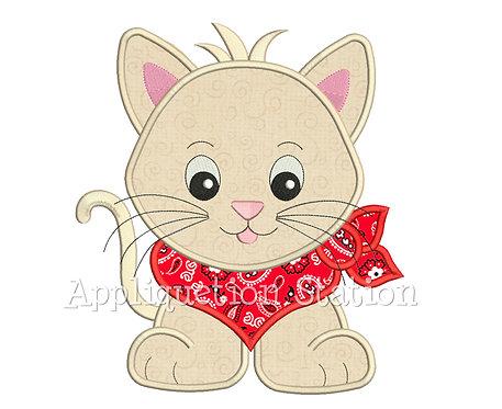 Bandana Baby Kitten Cat