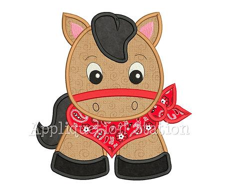 Bandana Baby Horse