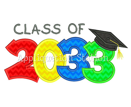 Class of 2033 Graduation Cap