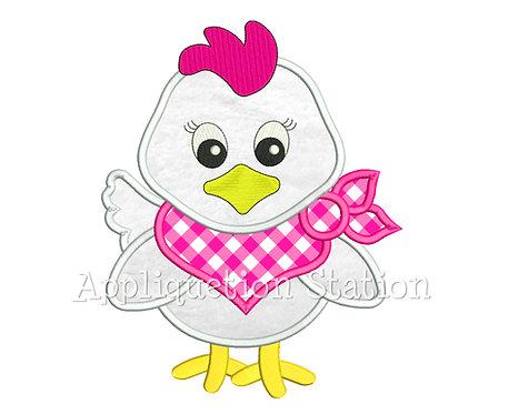 Bandana Baby Girl Chicken