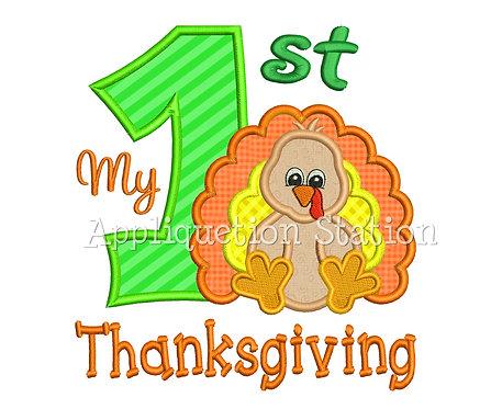 My 1st Thanksgiving Zoo Baby Turkey