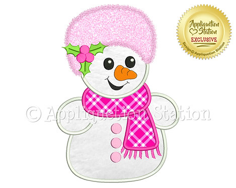 Snow Buddy Snowman #4 Girl