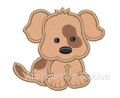Puppy with Patches